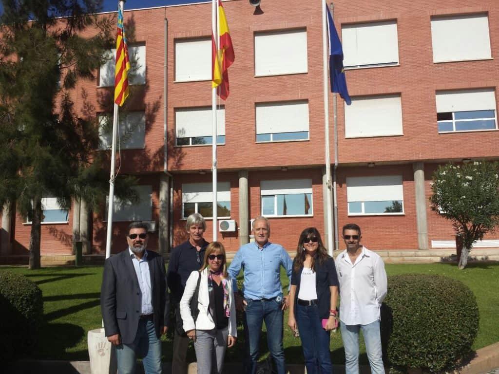 Managers de Nova College y equipo de programas europeos