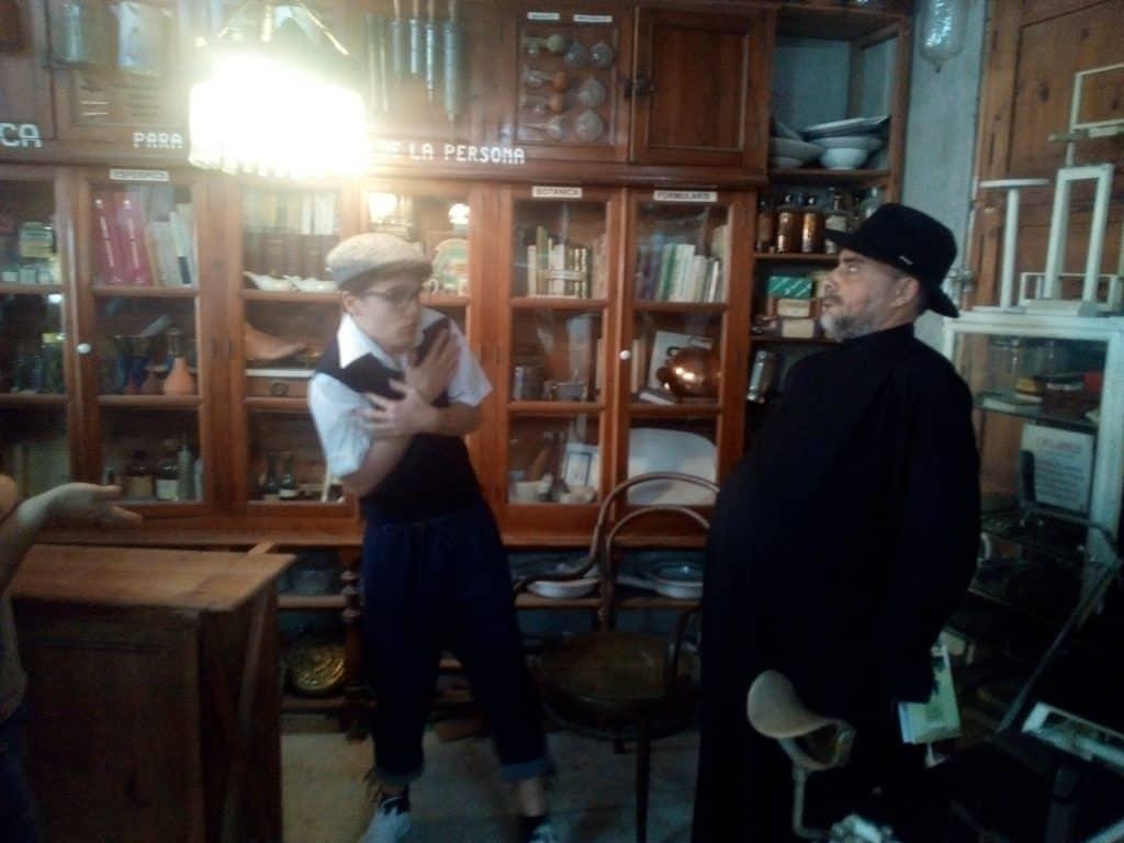 Visita teatralizada al Museo de Artes y Oficios de Monóvar del alumnado de Animación Sociocultural y Turística